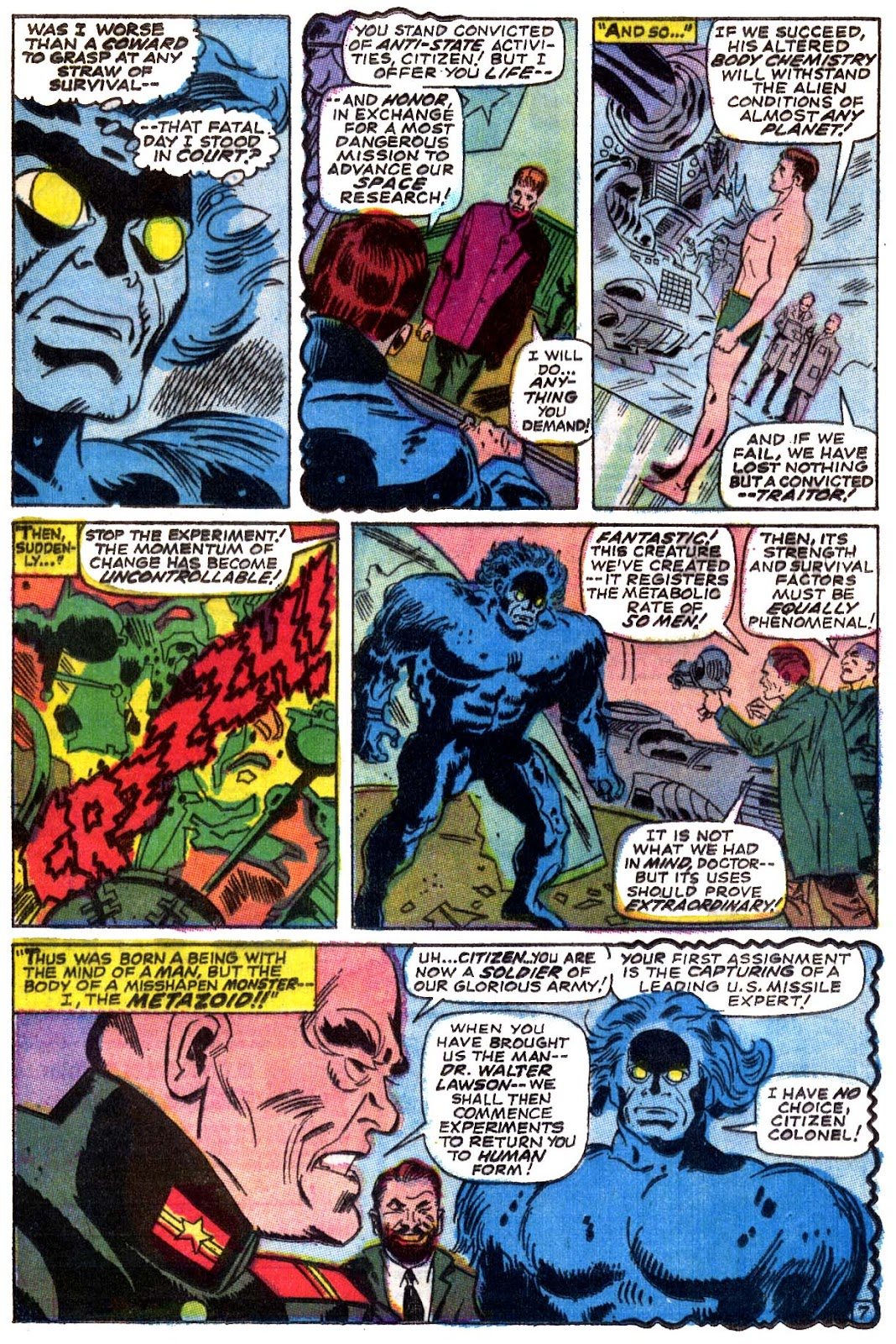 Captain Marvel (1968) issue 5 - Page 8