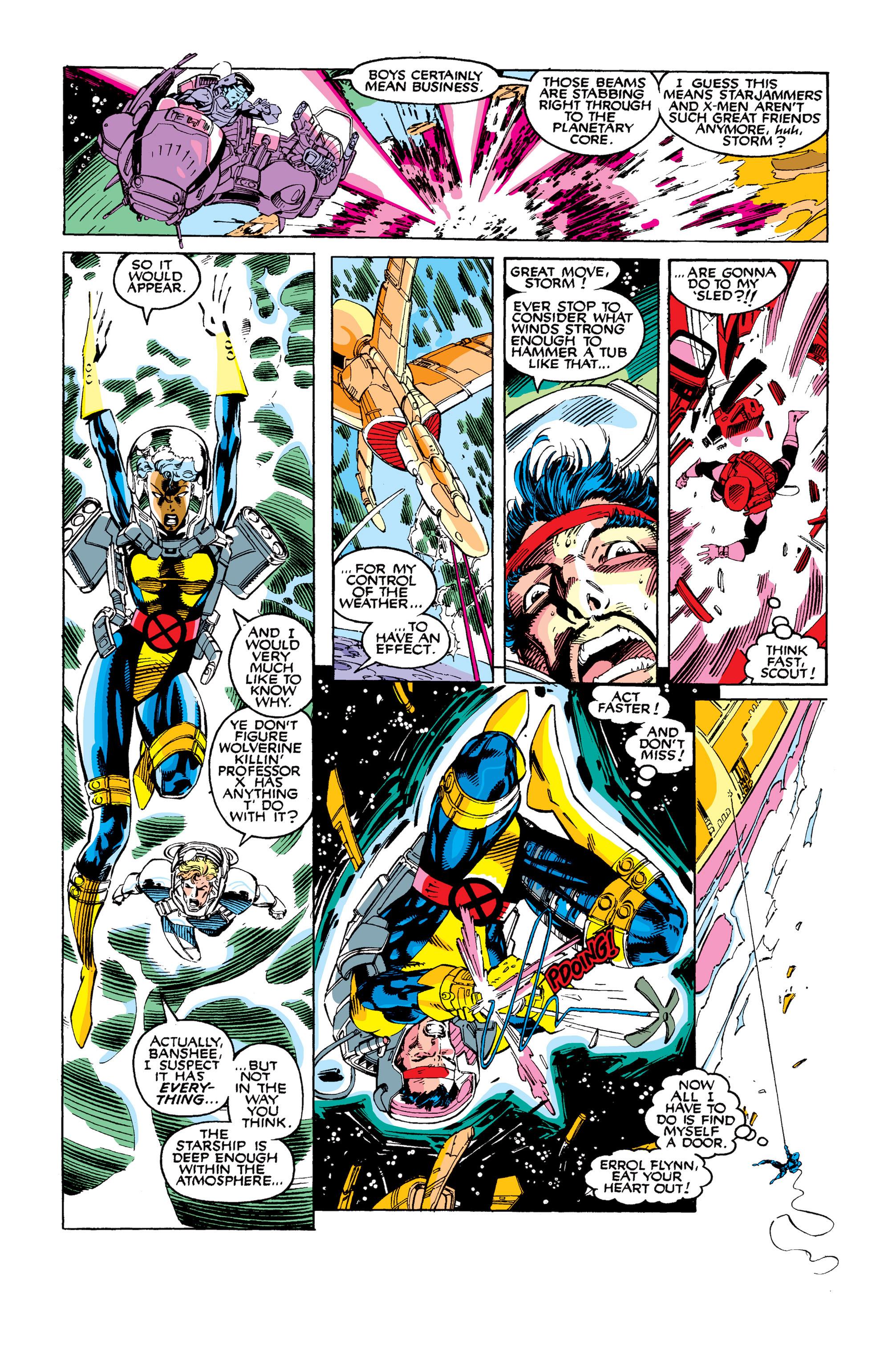 Read online Uncanny X-Men (1963) comic -  Issue #277 - 4