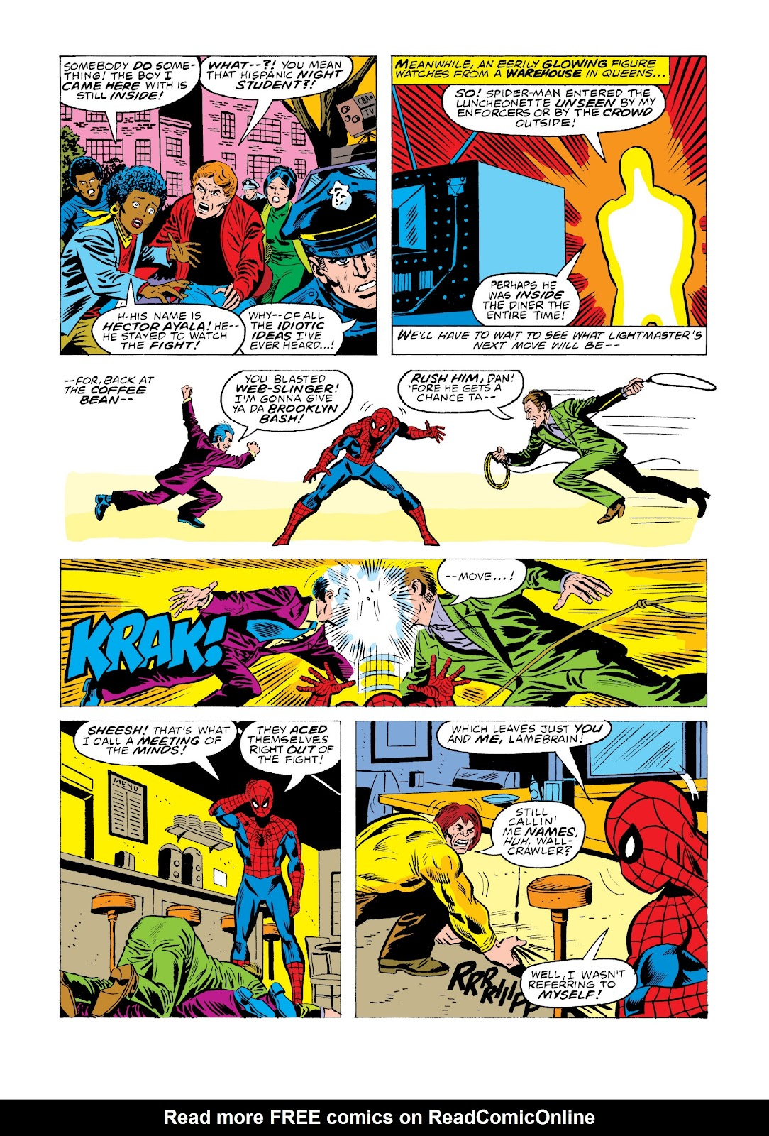 Read online Marvel Masterworks: The Spectacular Spider-Man comic -  Issue # TPB 2 (Part 1) - 78