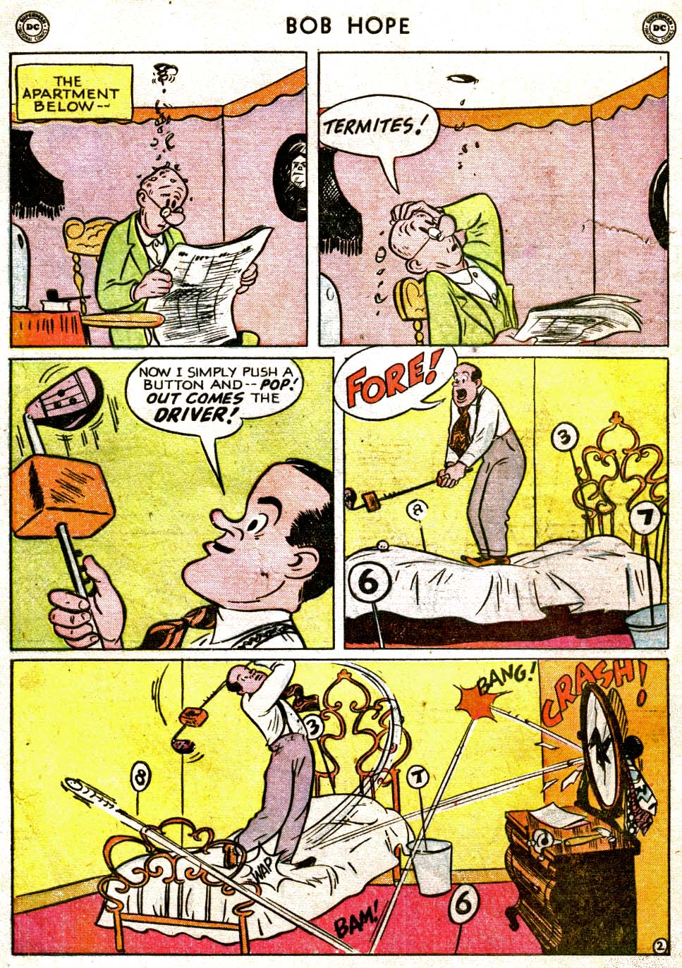 The Adventures of Bob Hope issue 1 - Page 4