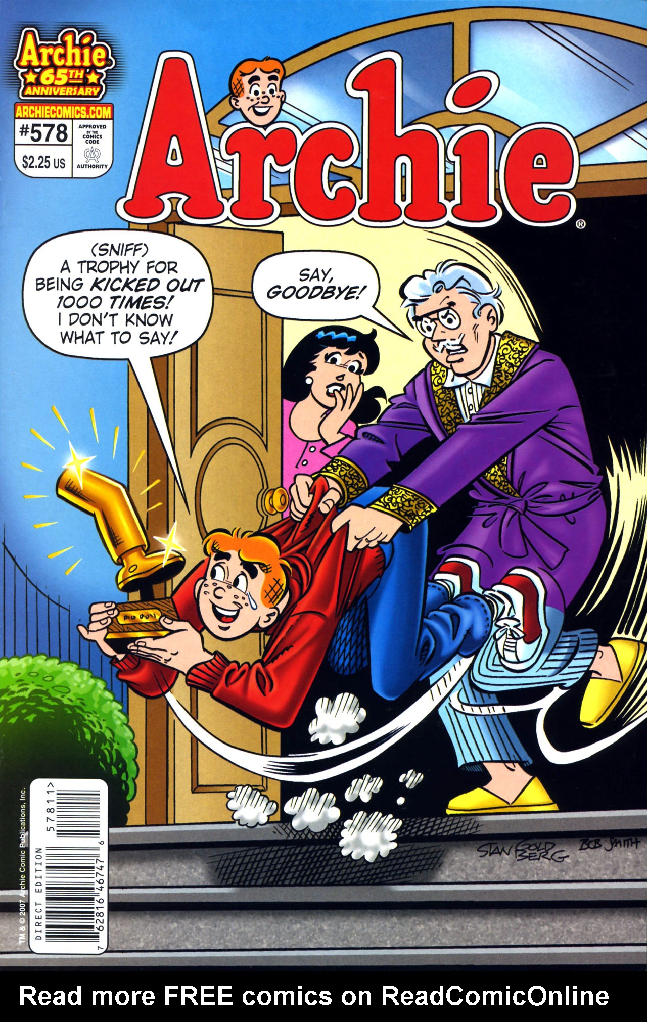 Read online Archie (1960) comic -  Issue #578 - 1