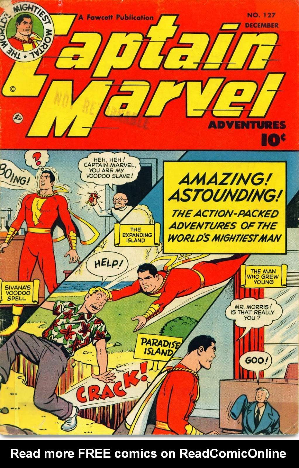 Captain Marvel Adventures 127 Page 1
