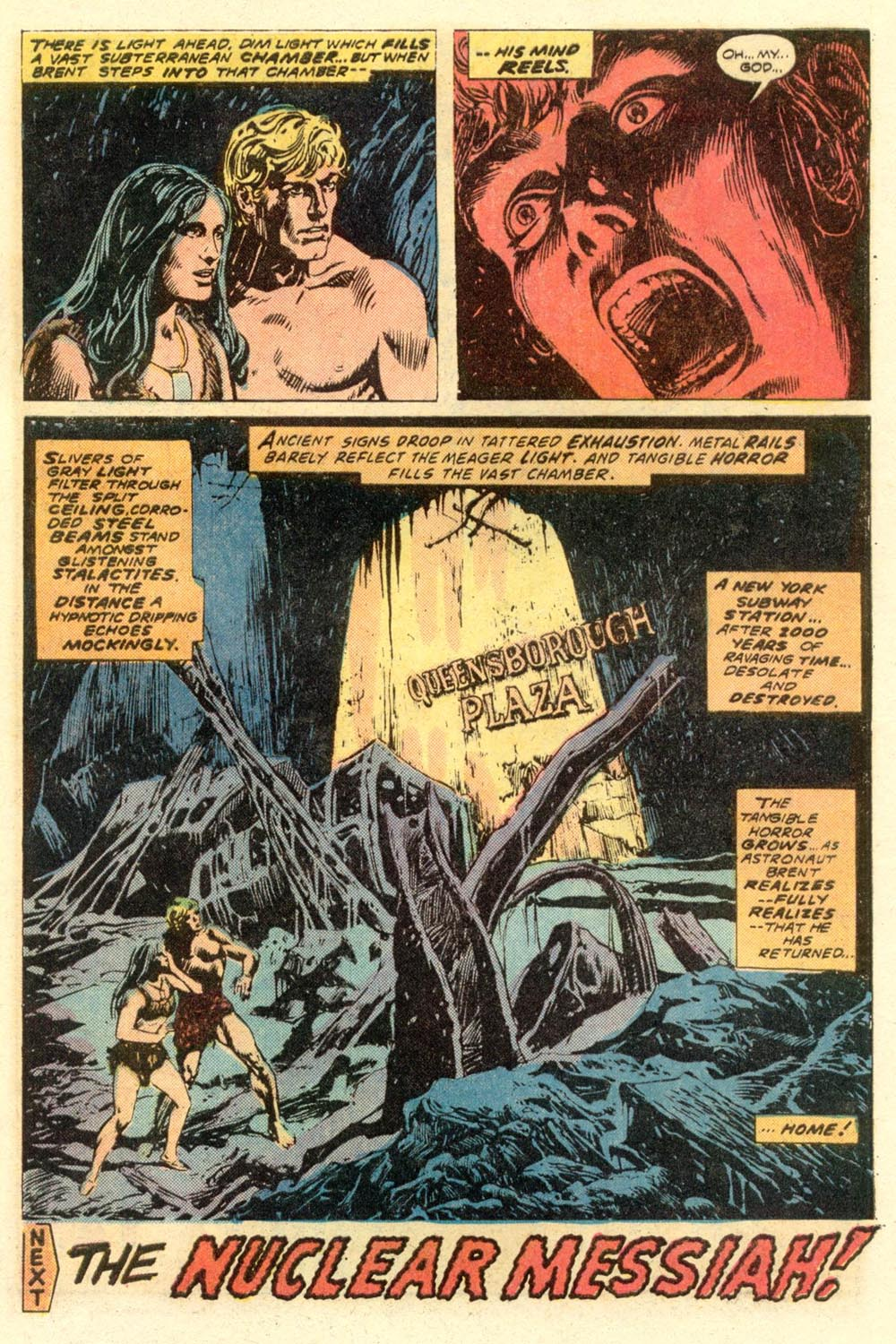 Read online Adventures on the Planet of the Apes comic -  Issue #8 - 19