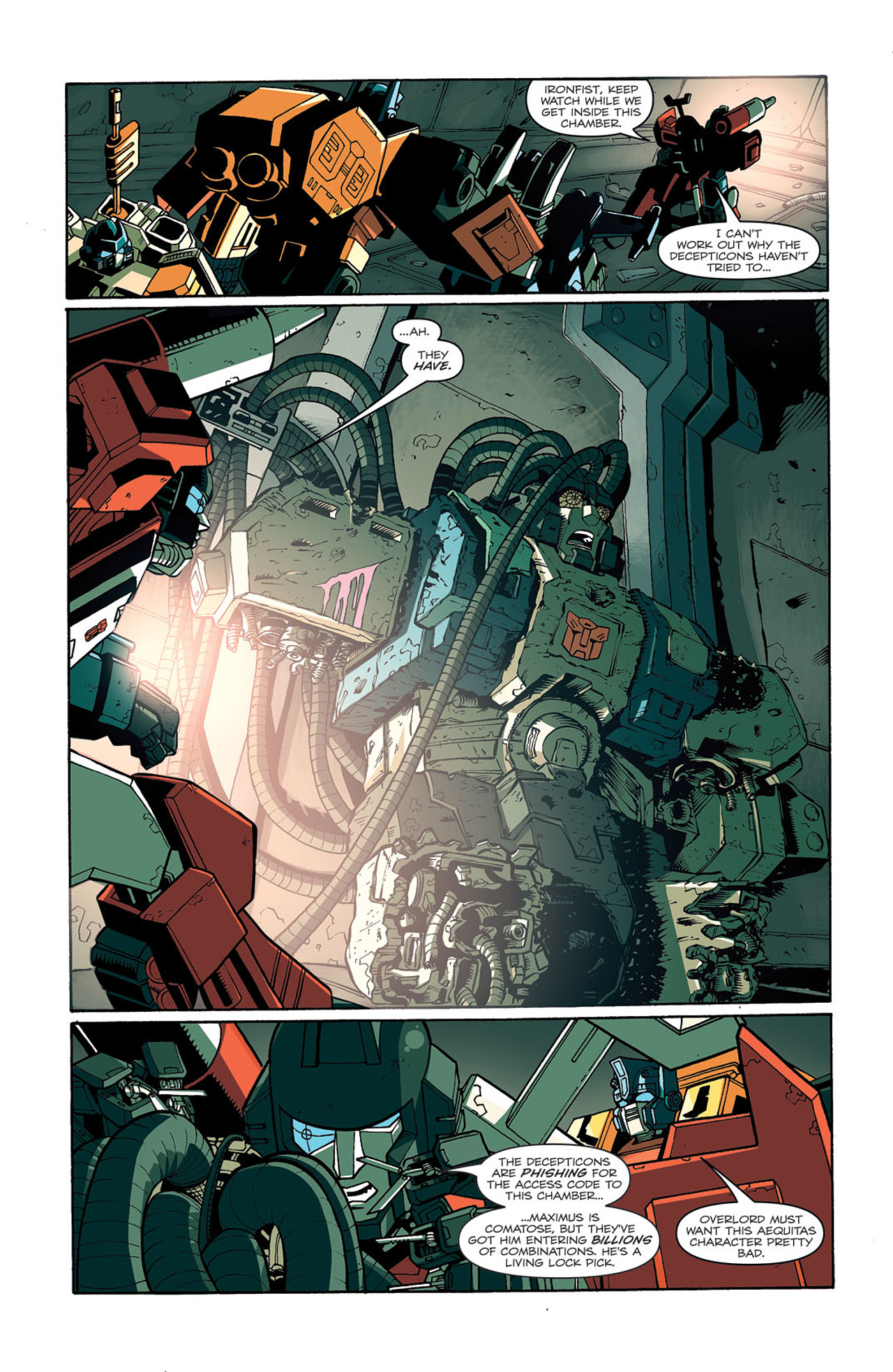 Read online Transformers: Last Stand of The Wreckers comic -  Issue #3 - 24