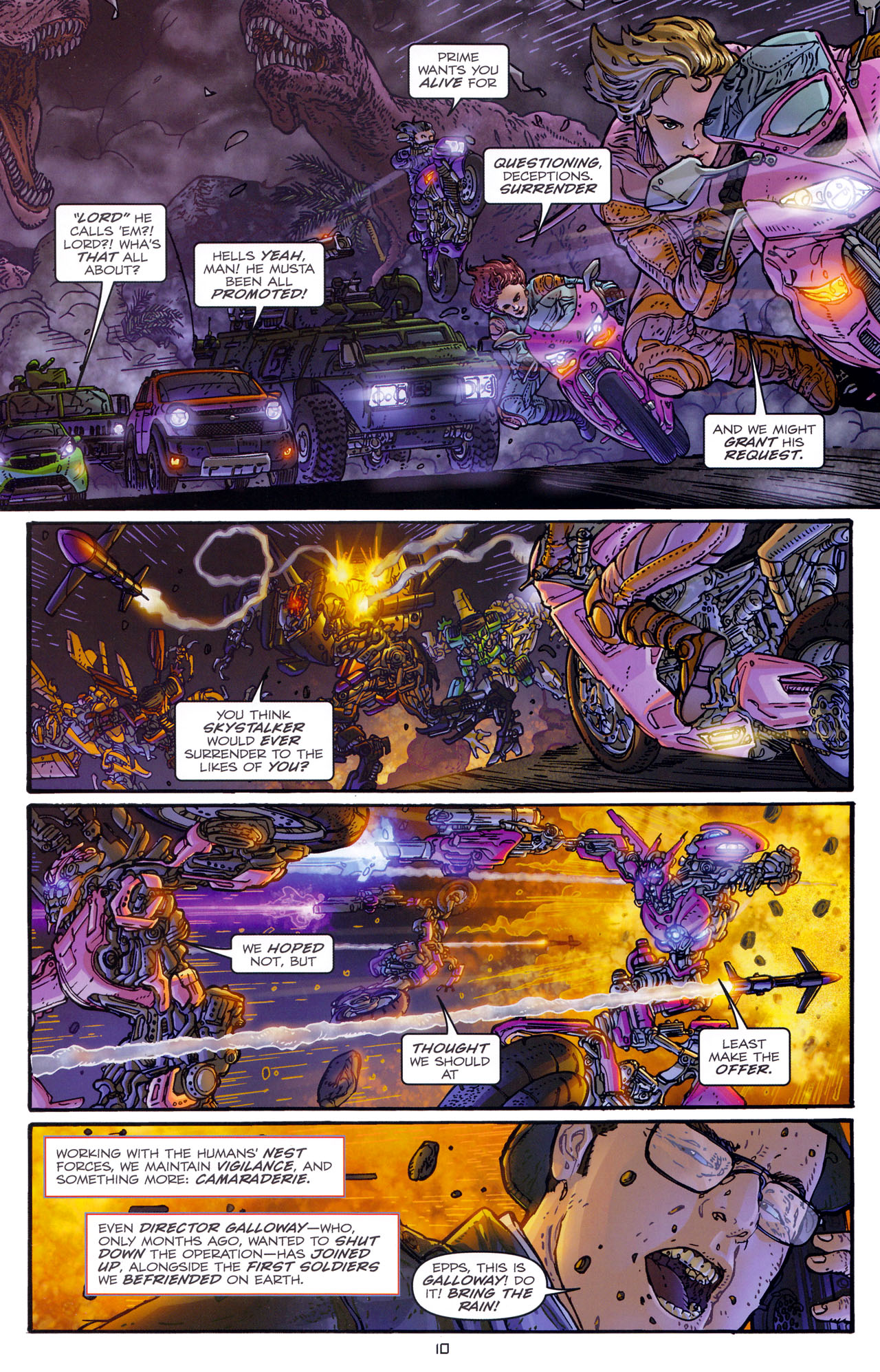 Read online Transformers: Dark of the Moon Rising Storm comic -  Issue #1 - 13