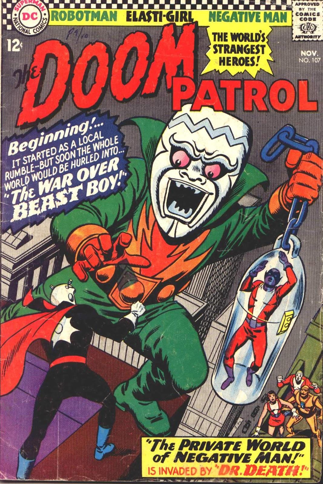 Doom Patrol (1964) 107 Page 1