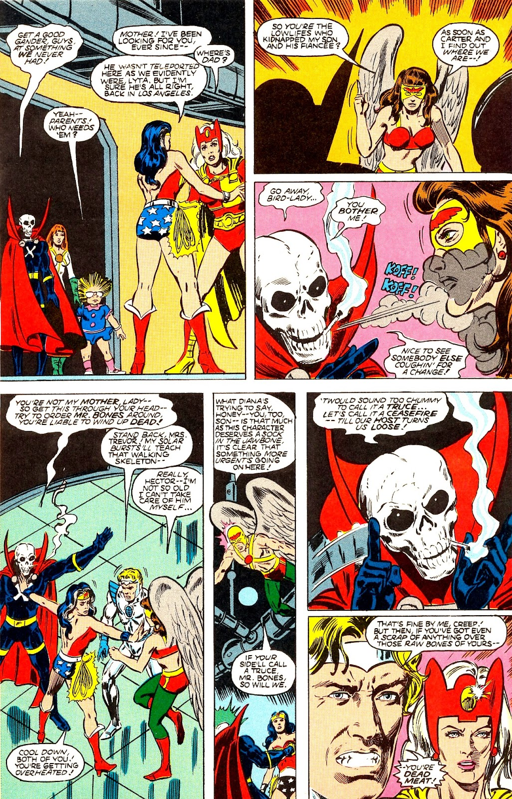 Infinity Inc. (1984) issue 22 - Page 9