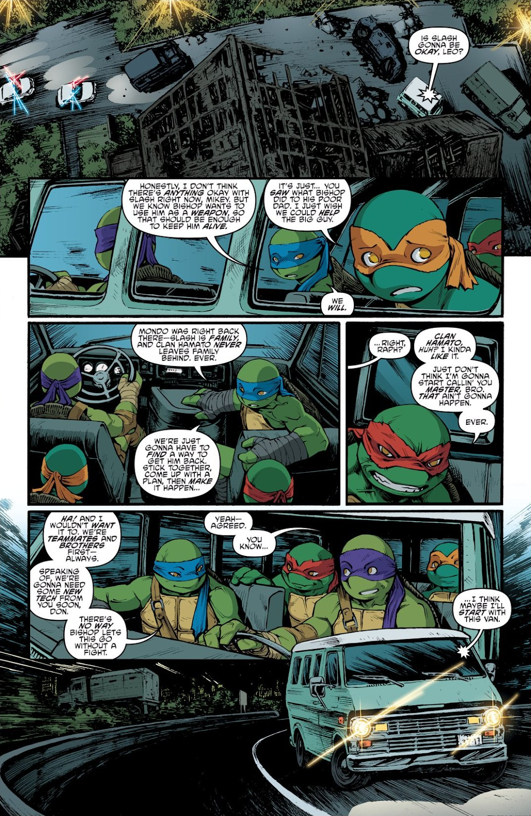 Read online Teenage Mutant Ninja Turtles: The IDW Collection comic -  Issue # TPB 9 (Part 1) - 93