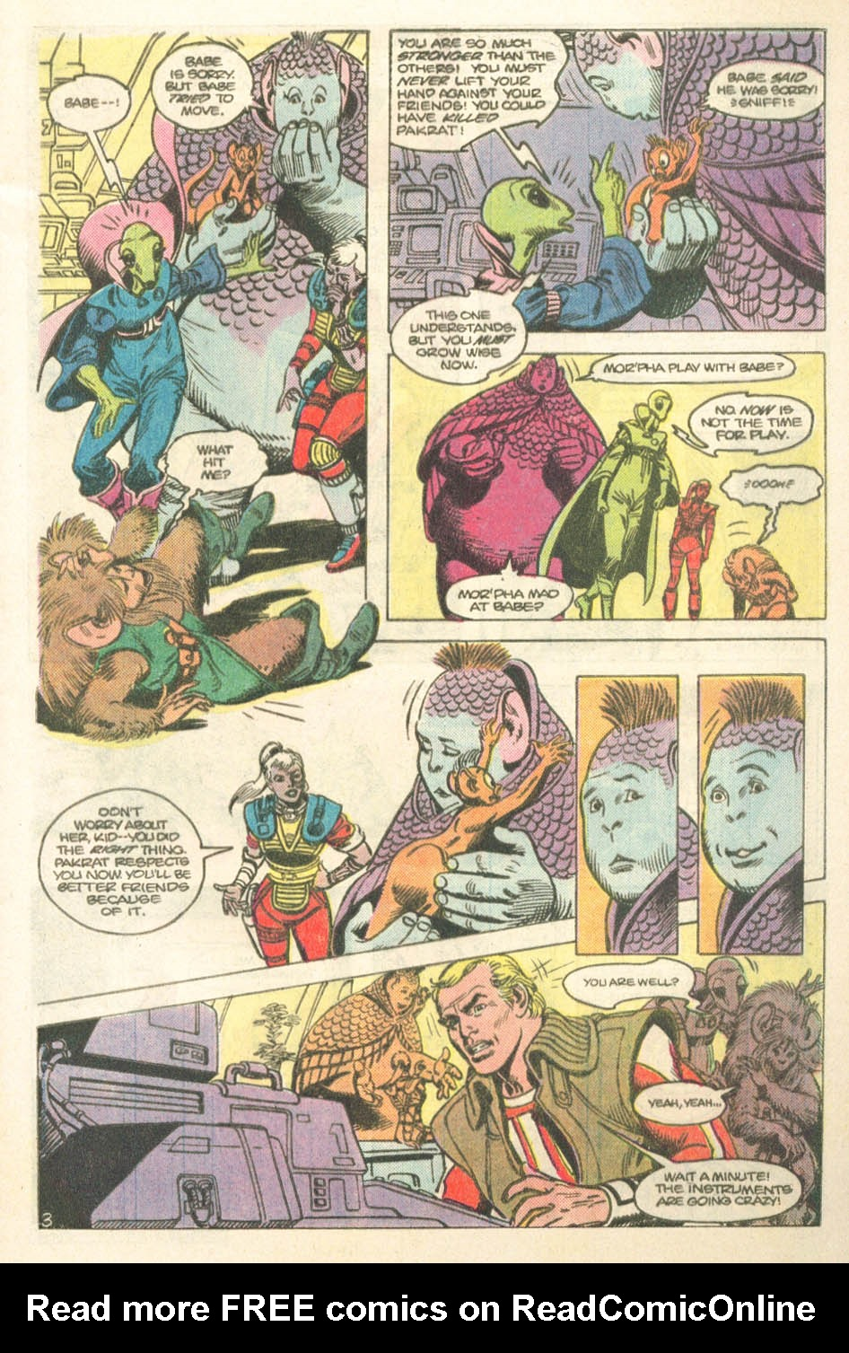 Read online Atari Force (1984) comic -  Issue #14 - 5
