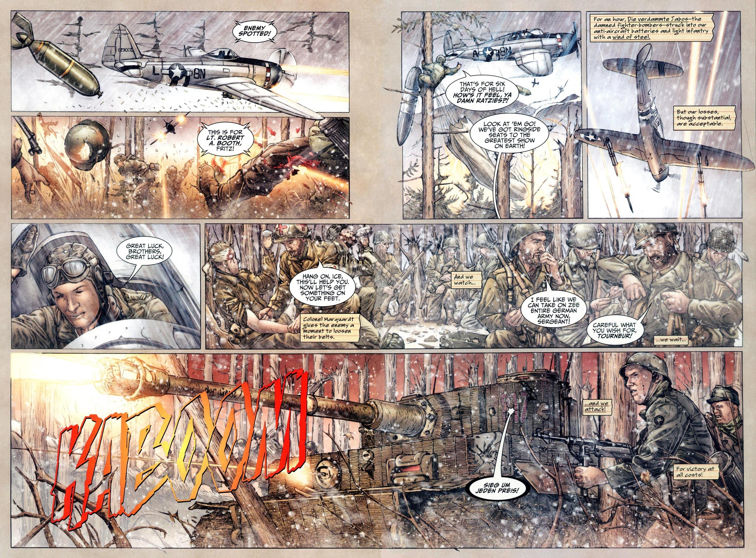 Read online Sgt. Rock: The Lost Battalion comic -  Issue #6 - 6