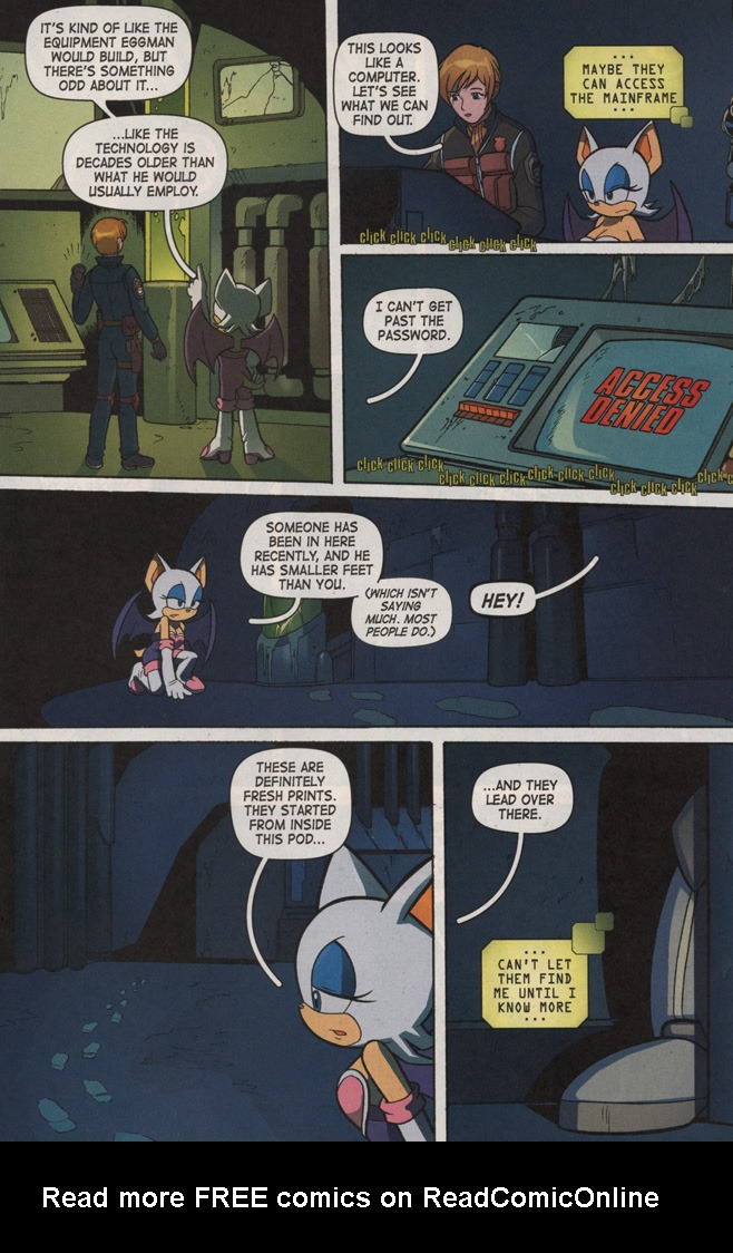 Read online Sonic X comic -  Issue #7 - 15