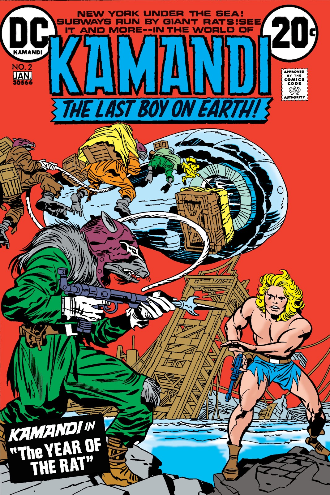 Kamandi, The Last Boy On Earth issue 2 - Page 1