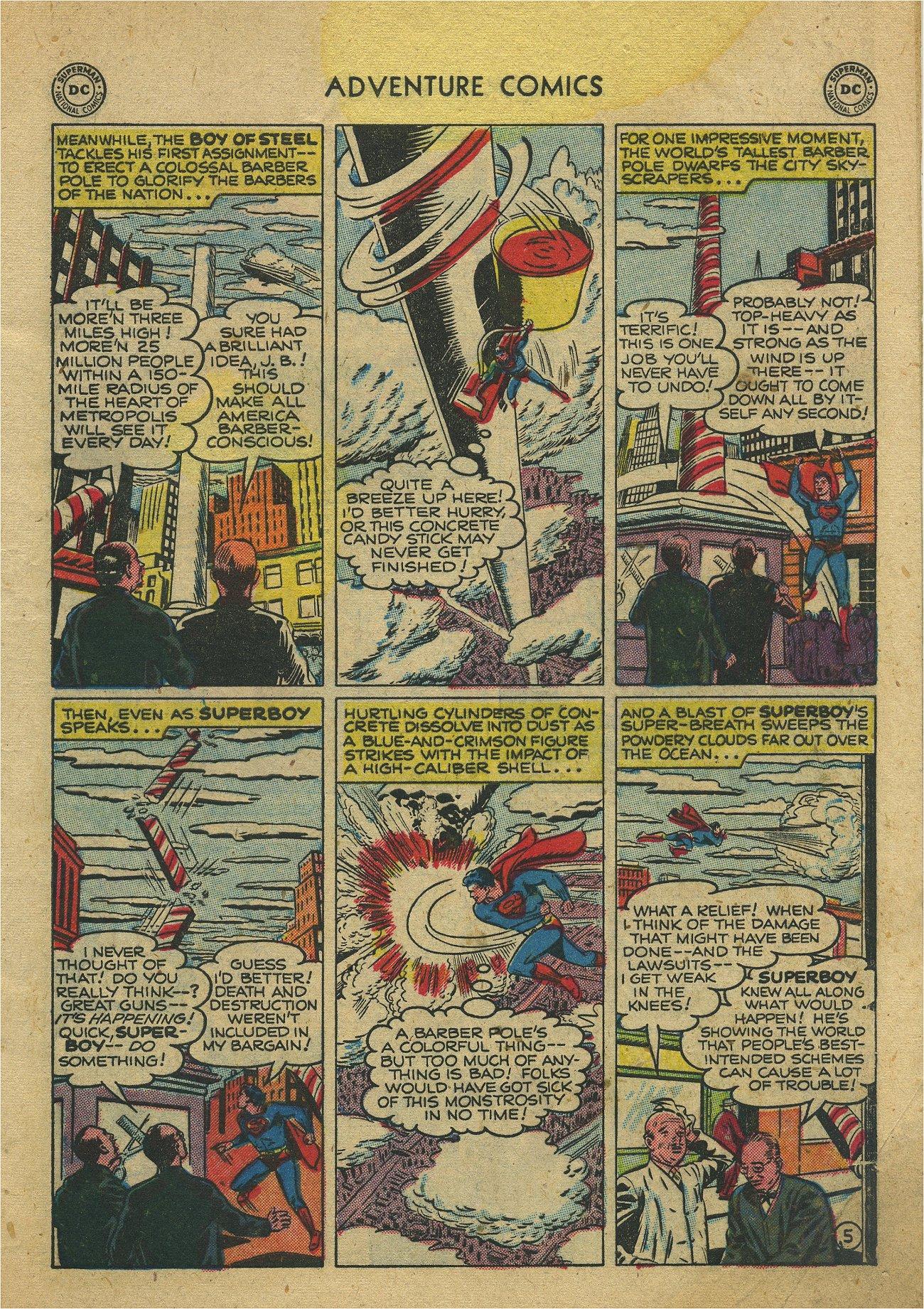 Read online Adventure Comics (1938) comic -  Issue #171 - 7