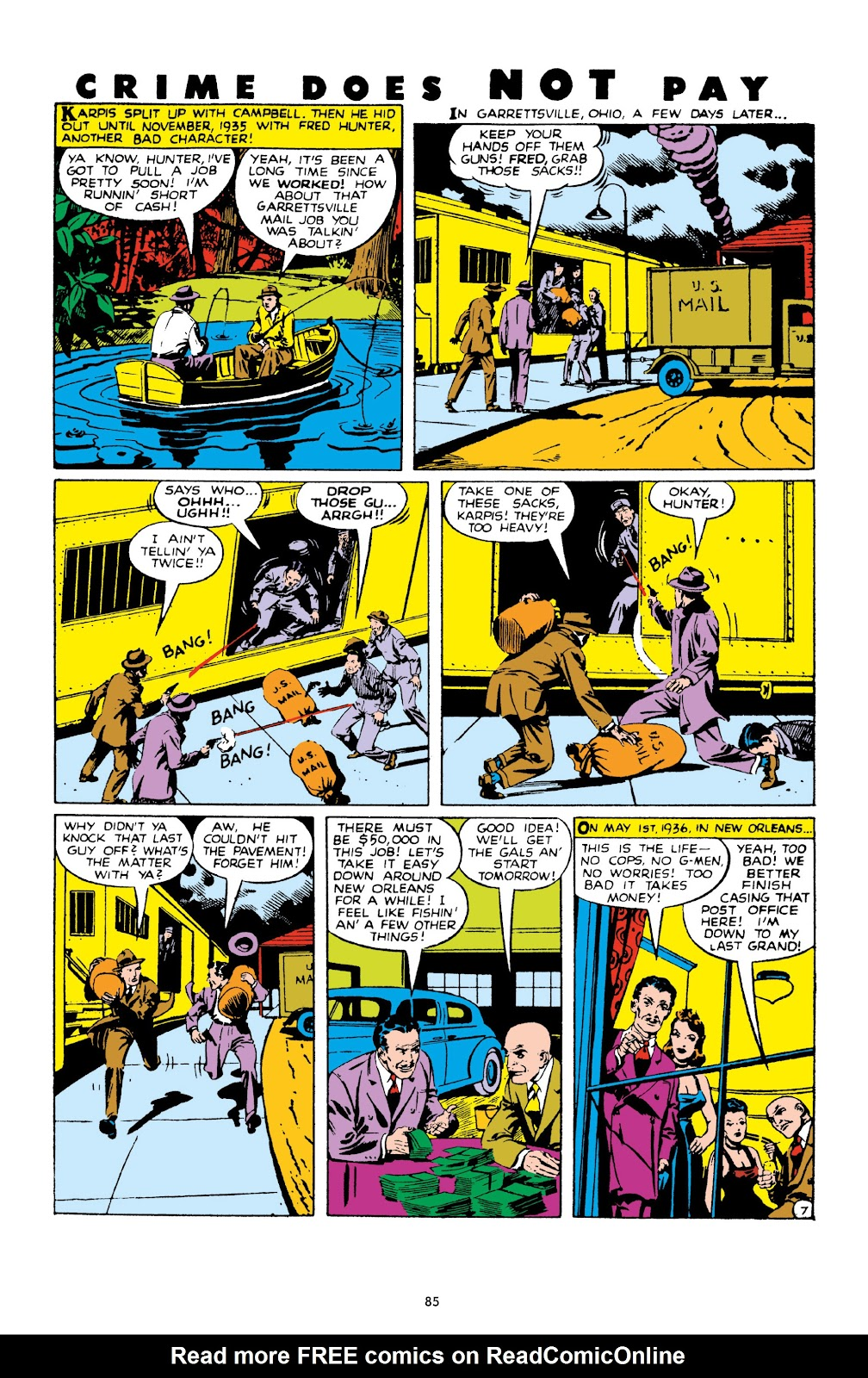 Read online Crime Does Not Pay Archives comic -  Issue # TPB 10 (Part 1) - 87