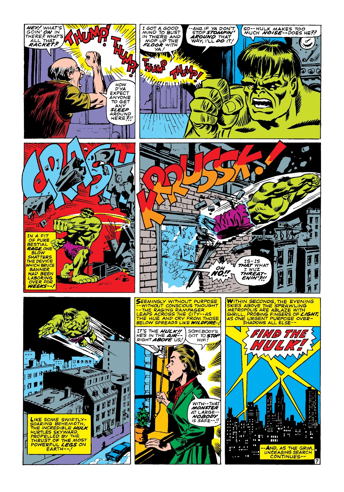 Read online Marvel Masterworks: The Incredible Hulk comic -  Issue # TPB 3 (Part 2) - 46