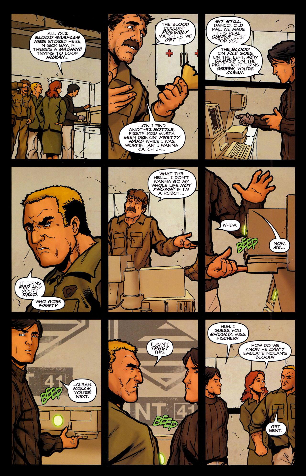 Read online Transformers: Sector 7 comic -  Issue #5 - 13