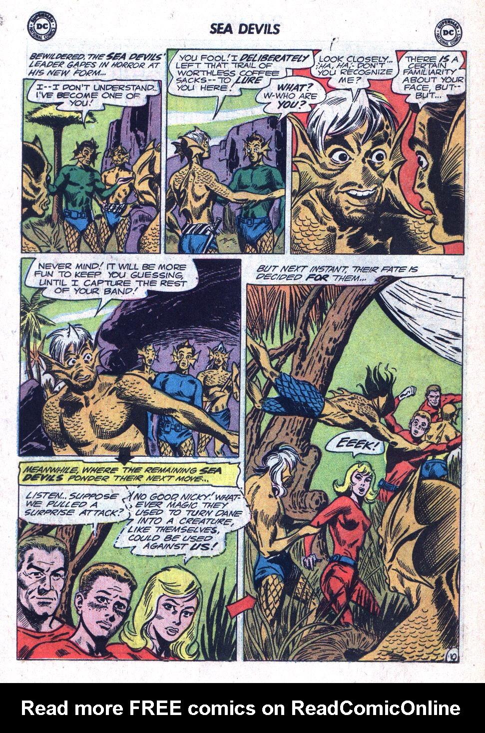 Read online Sea Devils comic -  Issue #18 - 14