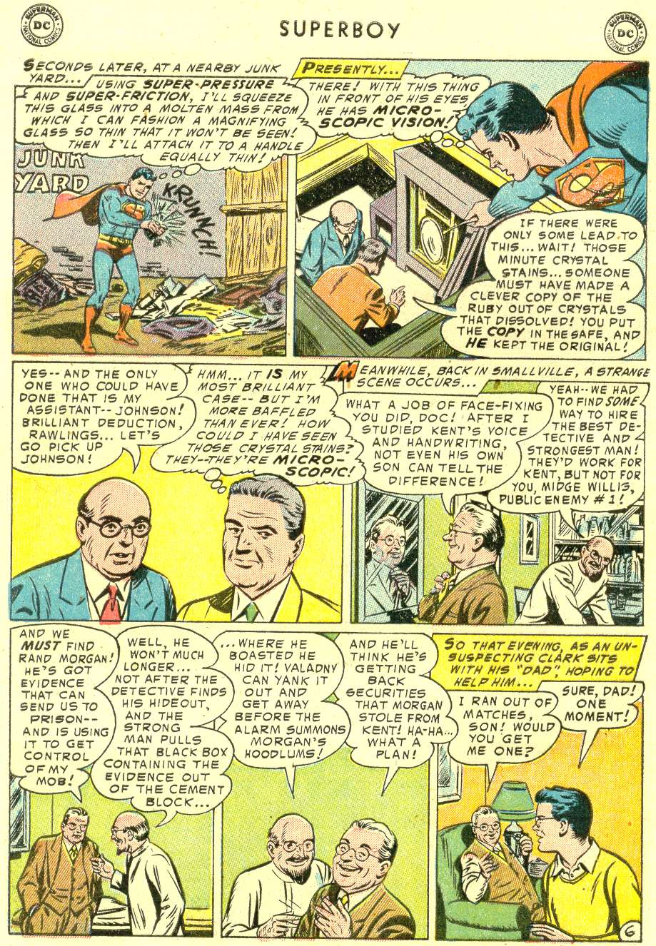 Superboy (1949) issue 42 - Page 7