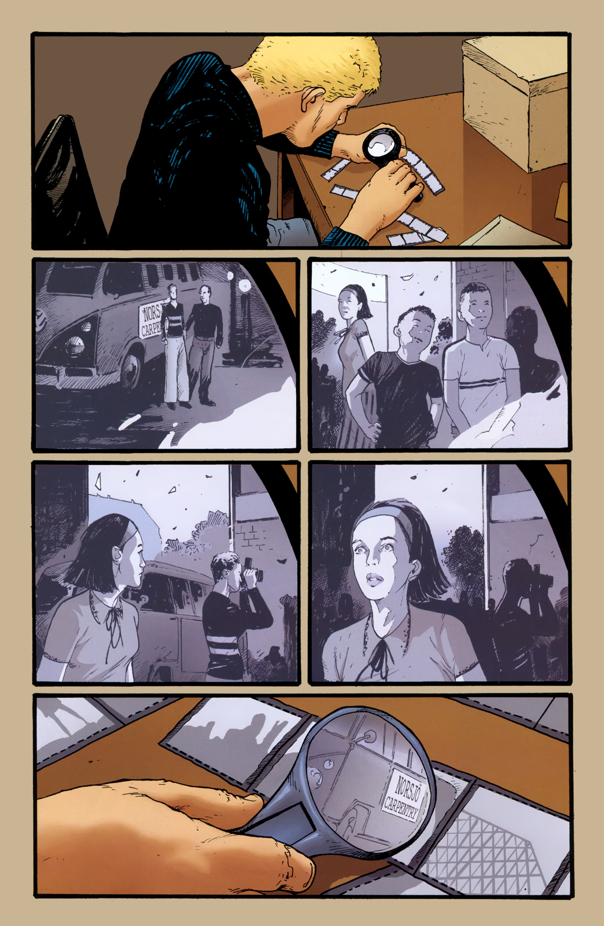 Read online The Girl With the Dragon Tattoo comic -  Issue # TPB 2 - 28