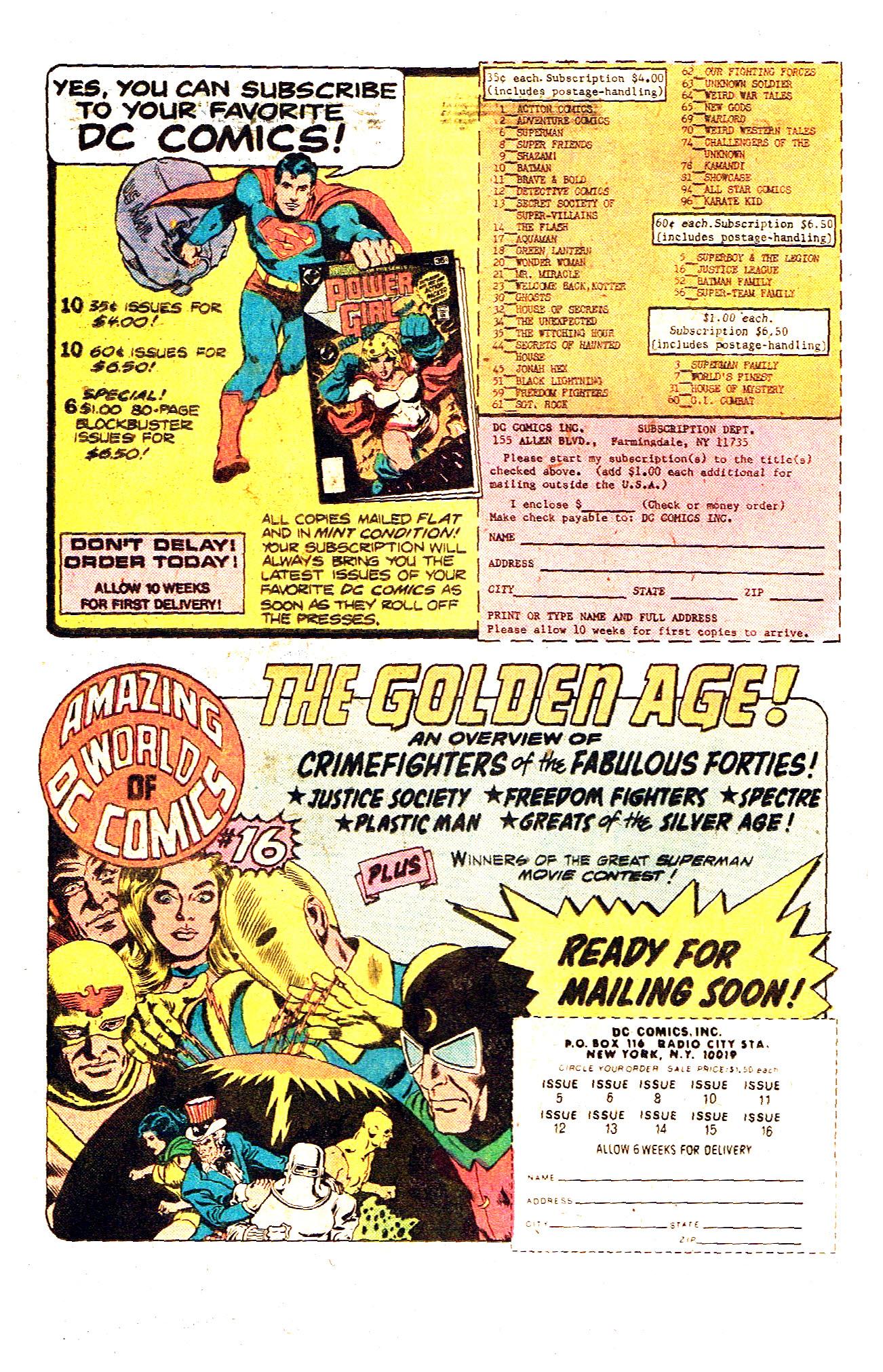 Read online Secret Society of Super-Villains comic -  Issue #12 - 20