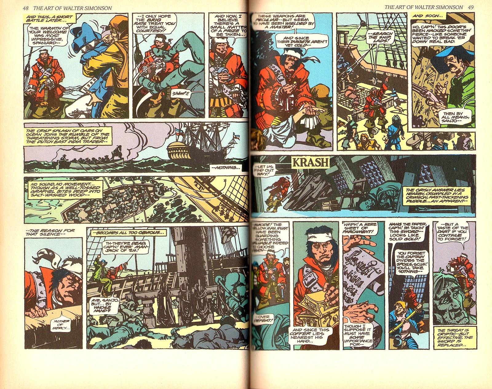 Read online The Art of Walter Simonson comic -  Issue # TPB - 26