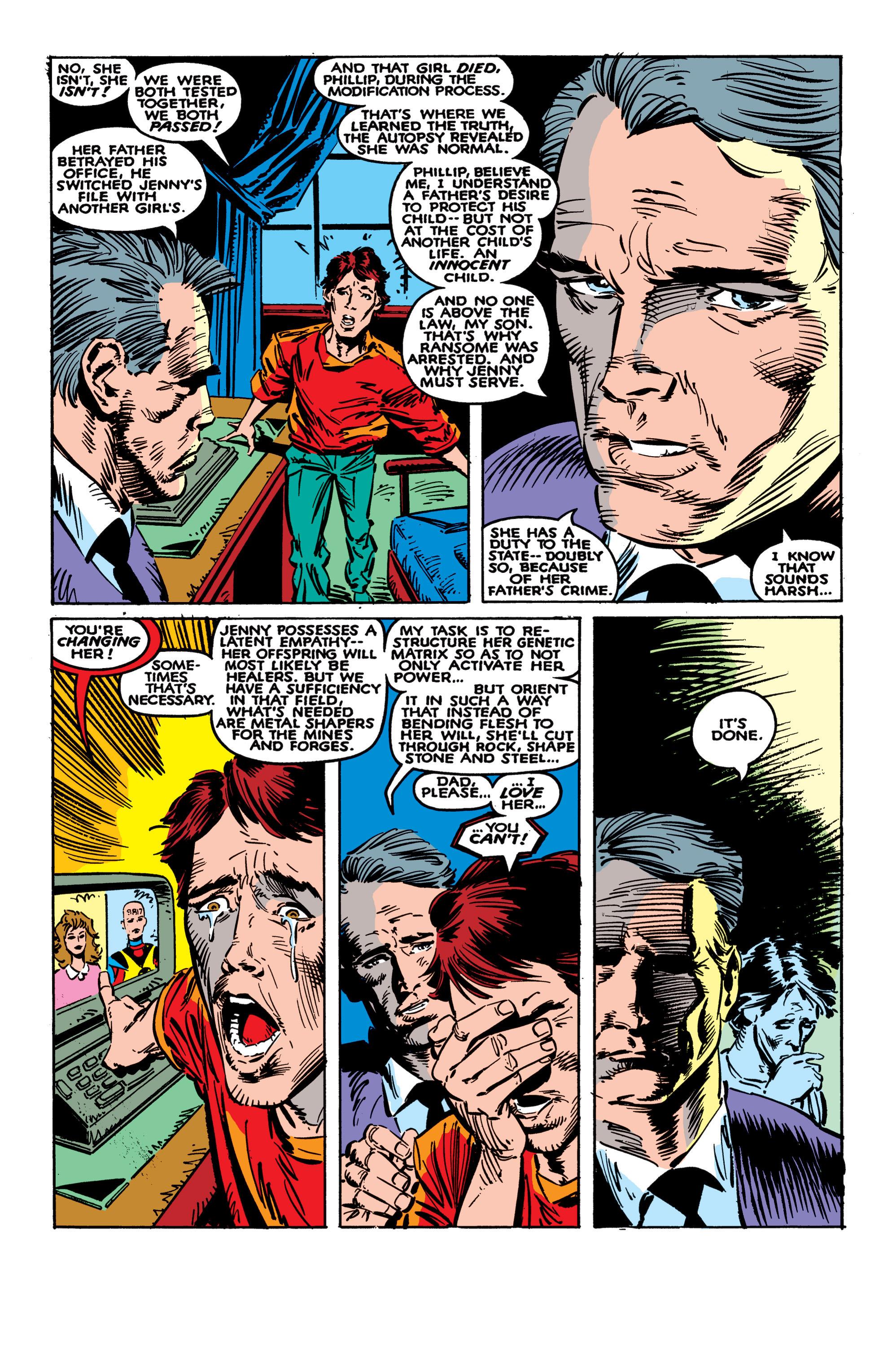 Read online Uncanny X-Men (1963) comic -  Issue #236 - 21