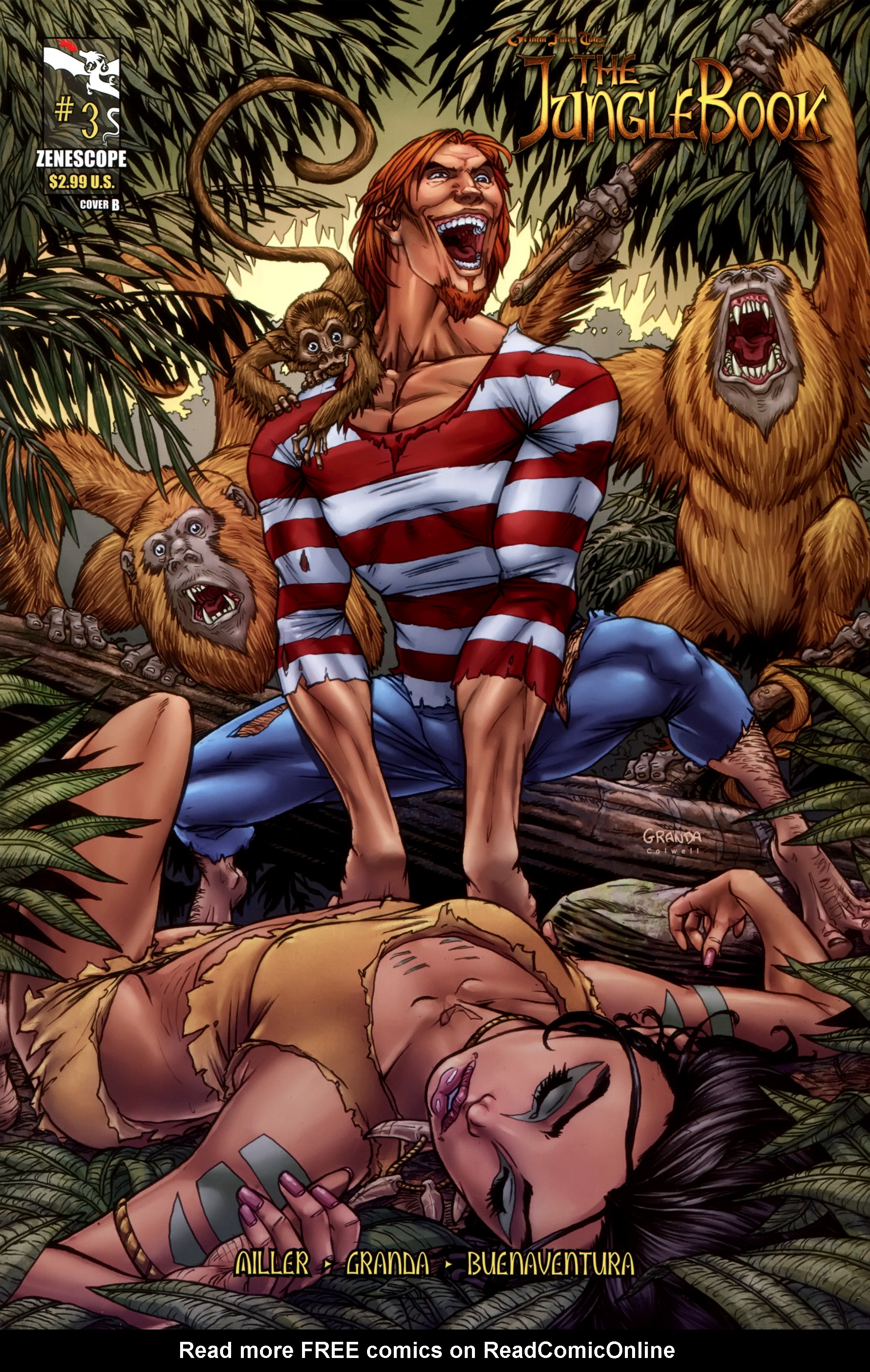 Grimm Fairy Tales presents The Jungle Book 3 Page 1