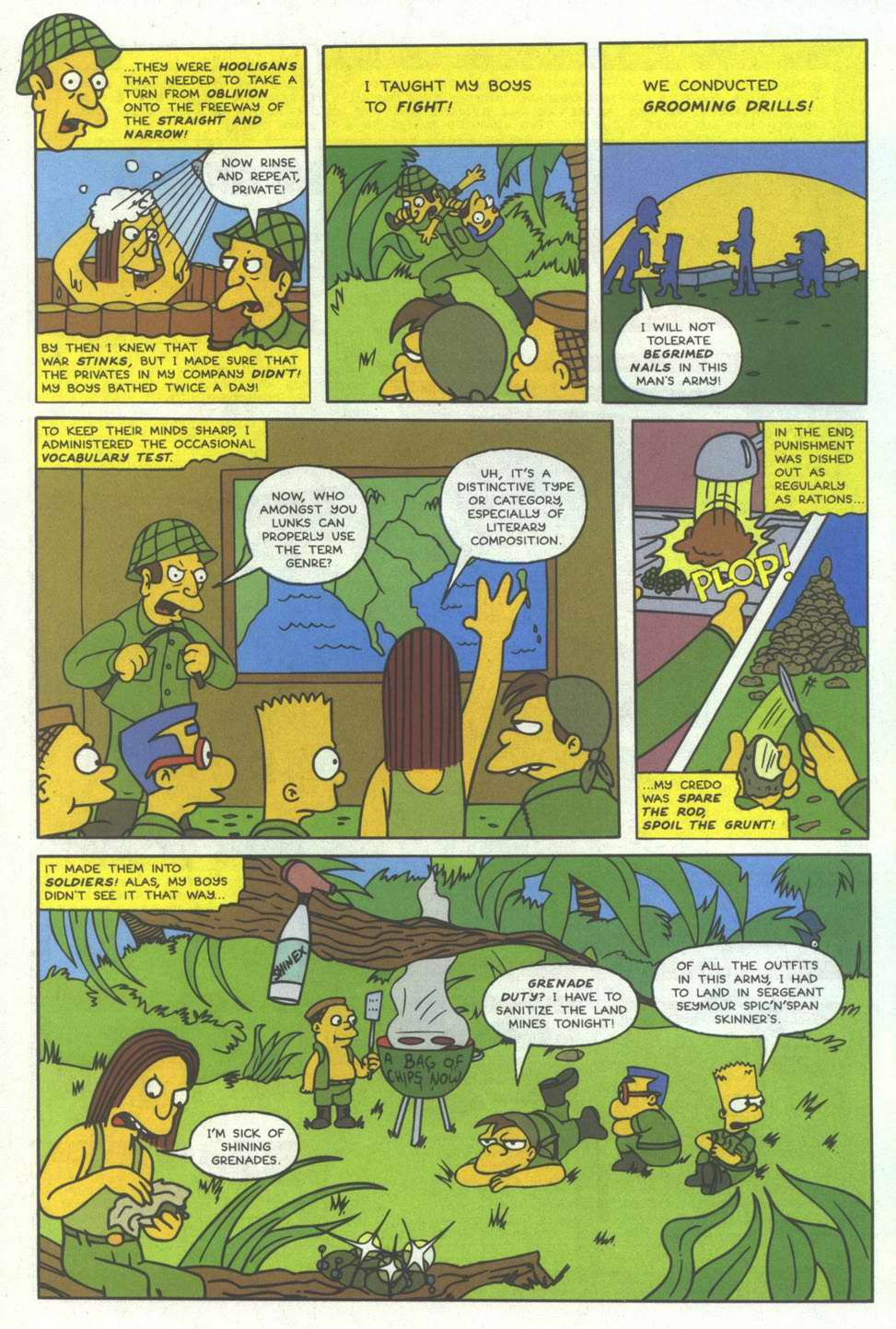 Read online Simpsons Comics comic -  Issue #12 - 24