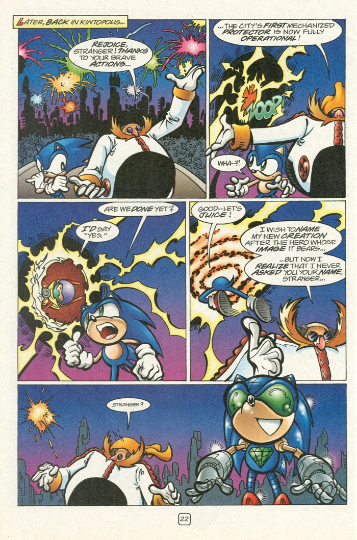 Read online Sonic Super Special comic -  Issue #12 - Sonic and Knuckles visa versa - 39