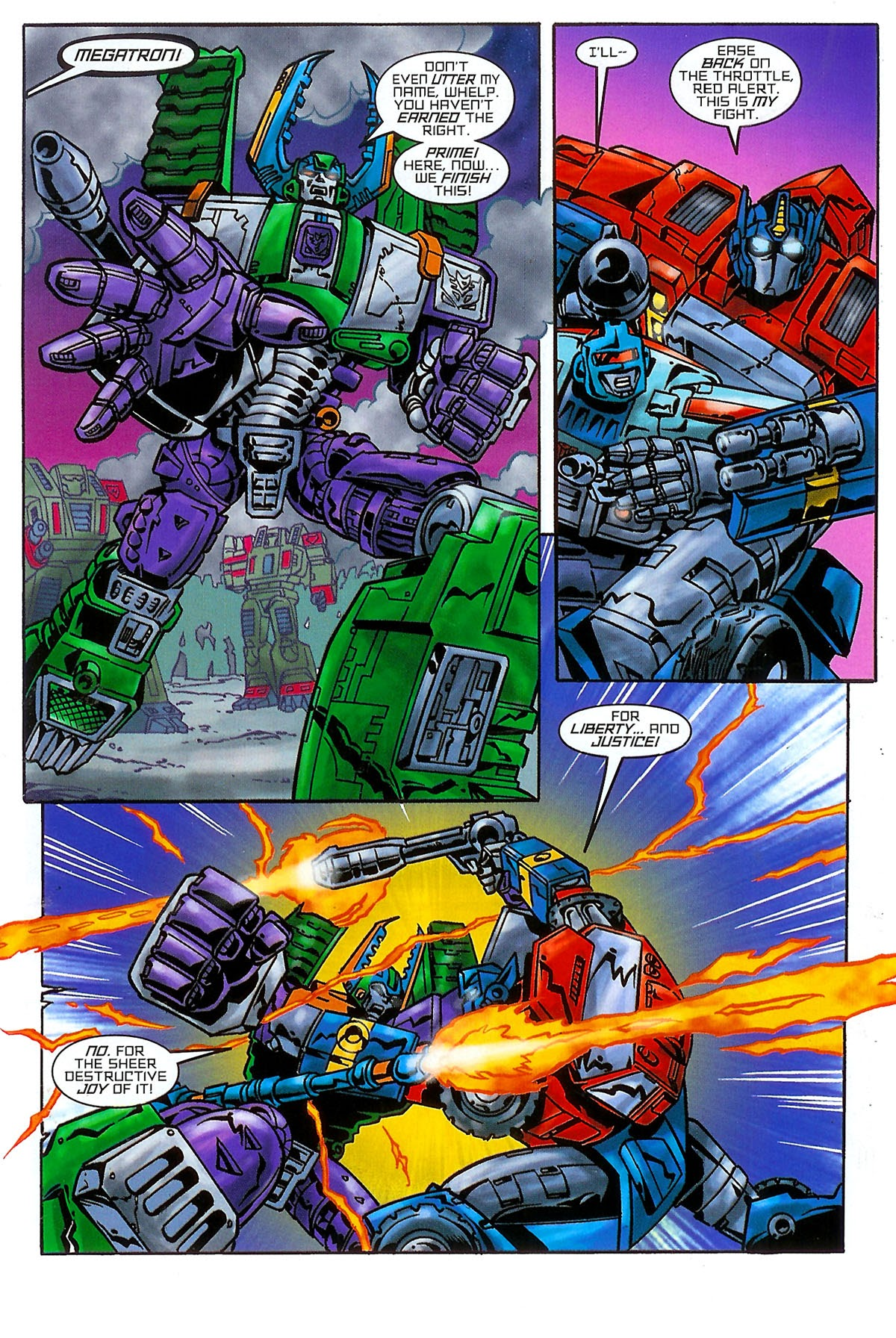 Read online Transformers: The Balance of Power comic -  Issue # Full - 12