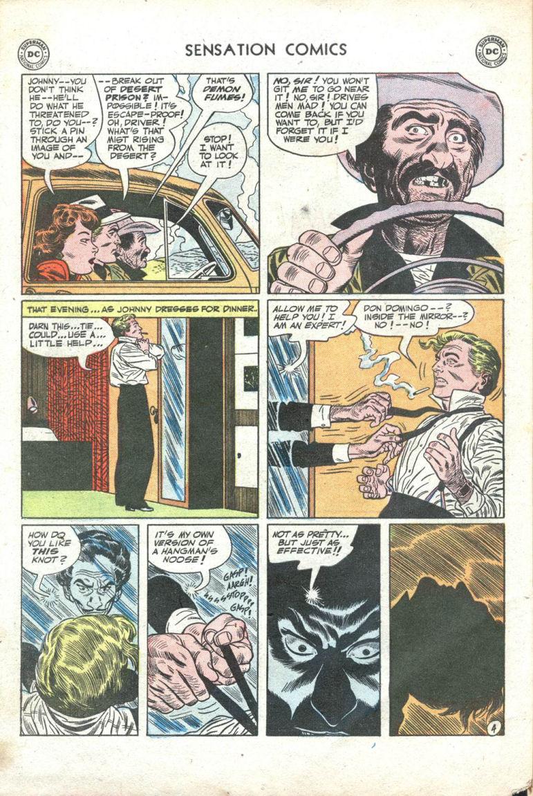 Read online Sensation (Mystery) Comics comic -  Issue #109 - 30