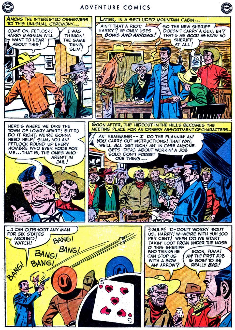 Read online Adventure Comics (1938) comic -  Issue #163 - 42