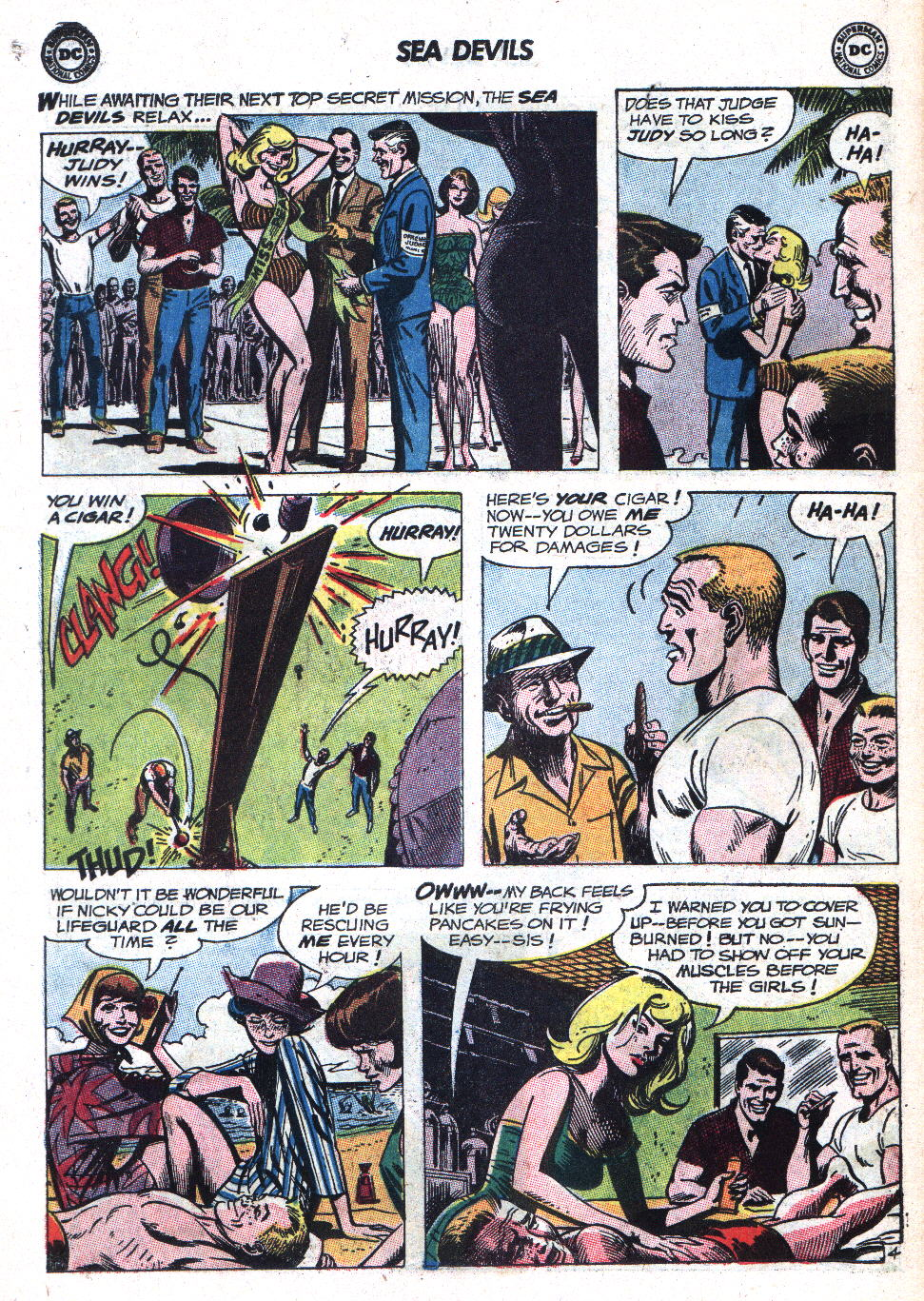 Read online Sea Devils comic -  Issue #9 - 7