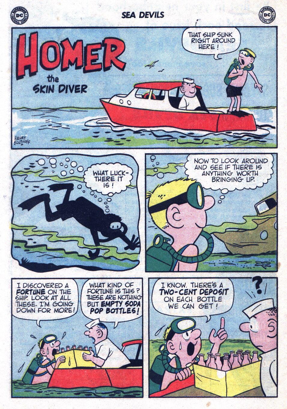 Read online Sea Devils comic -  Issue #20 - 12