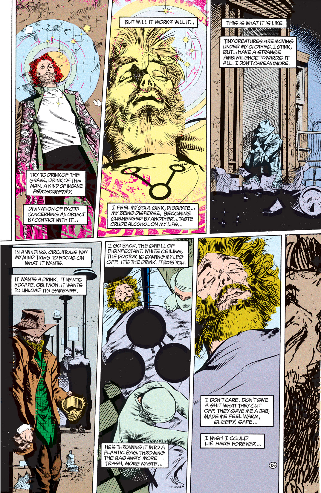 Read online Shade, the Changing Man comic -  Issue #7 - 19