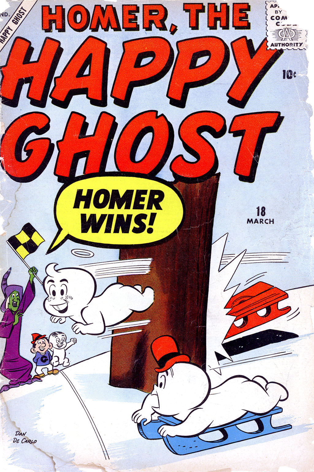Homer, the Happy Ghost 18 Page 1