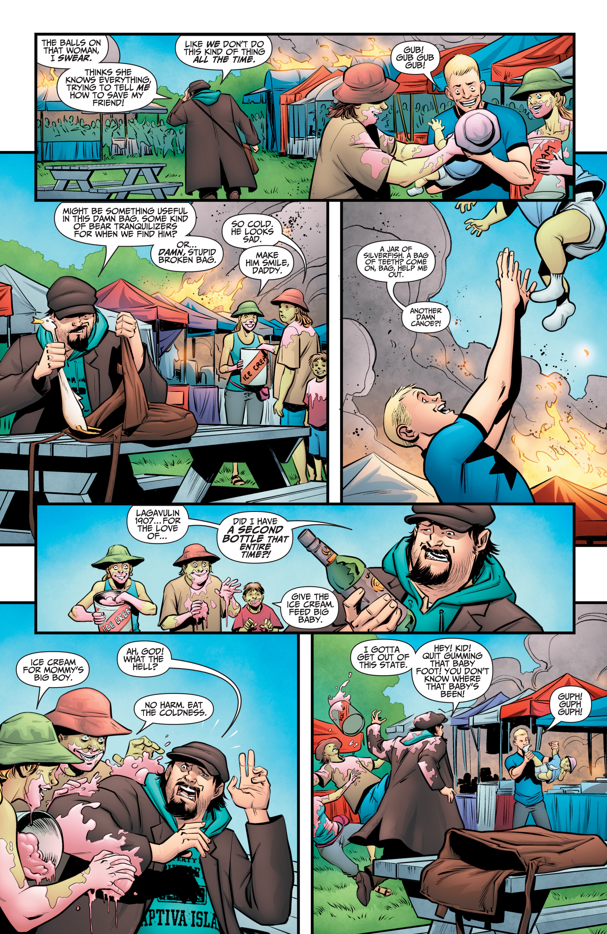Read online A&A: The Adventures of Archer & Armstrong comic -  Issue #11 - 20