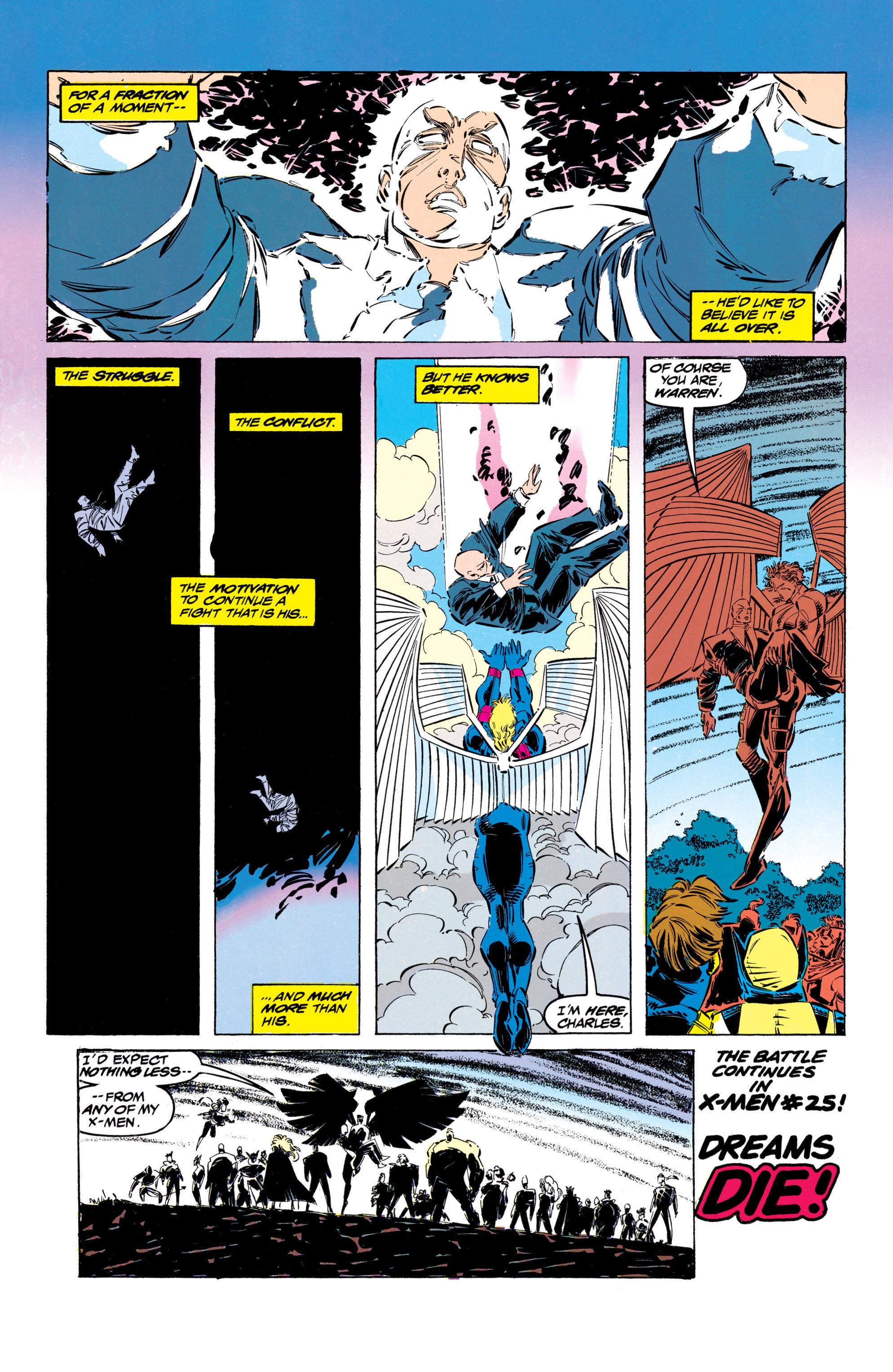 Read online Uncanny X-Men (1963) comic -  Issue #304 - 45