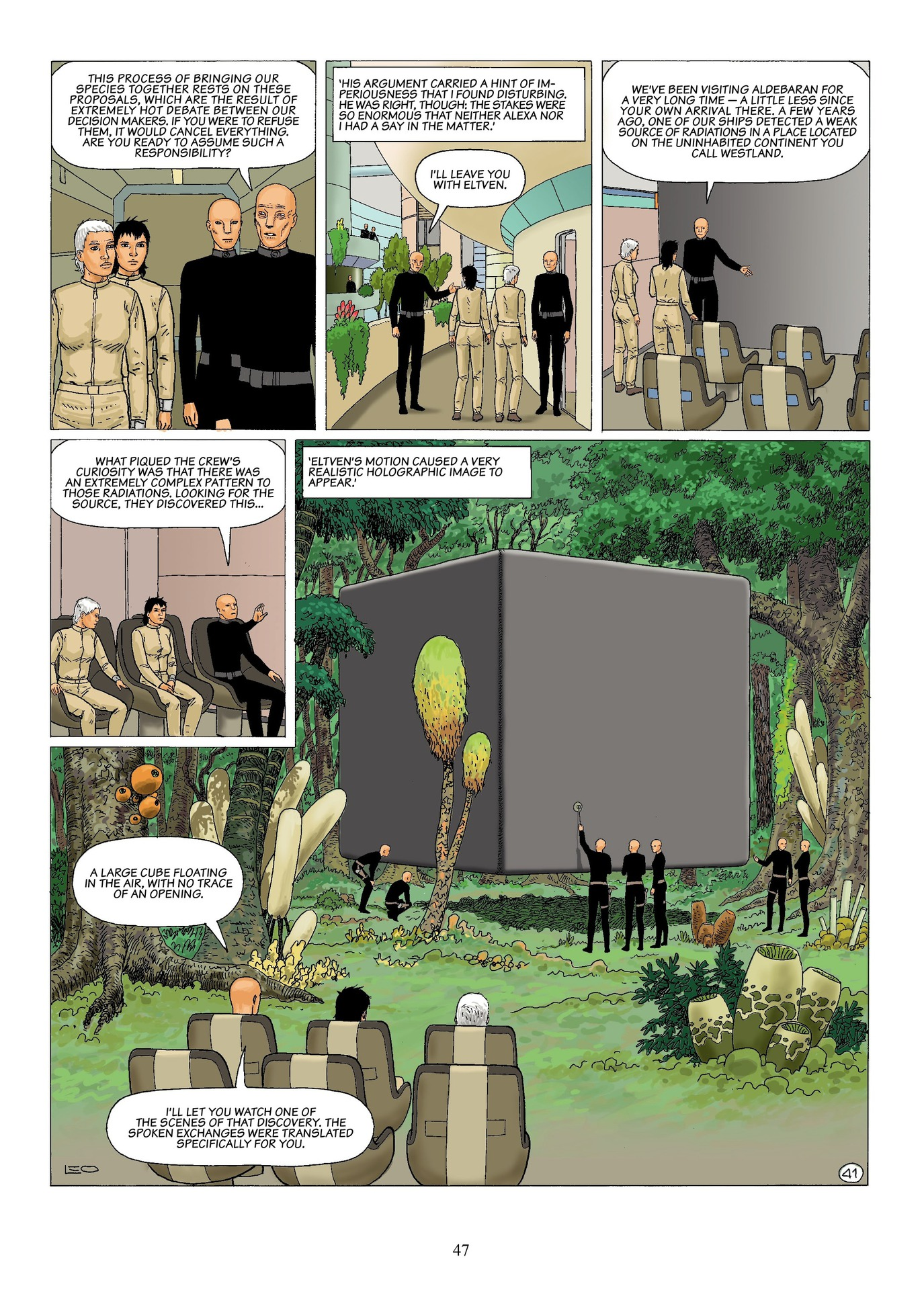 Read online Antares comic -  Issue #6 - 49