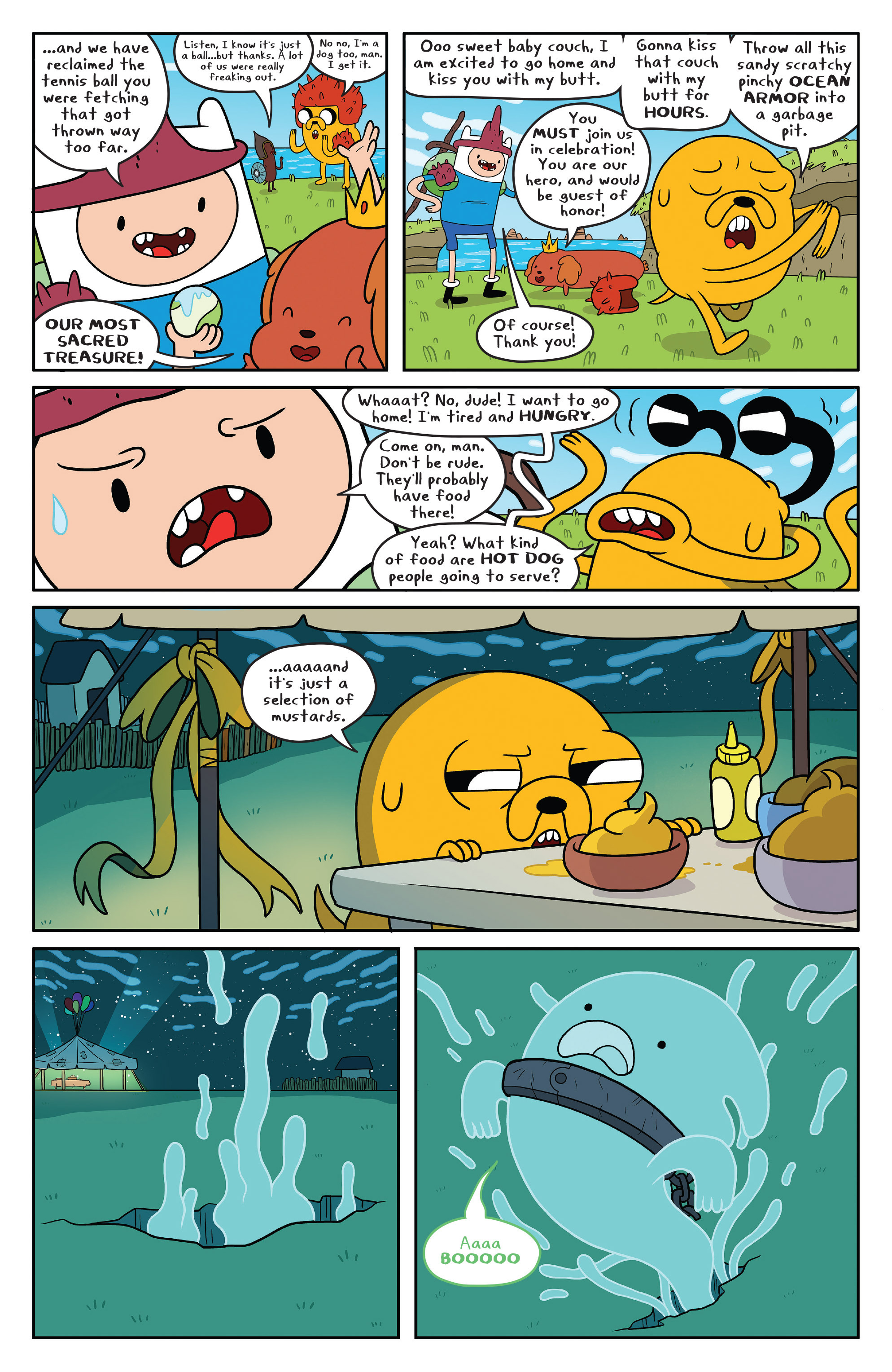 Read online Adventure Time comic -  Issue #51 - 4