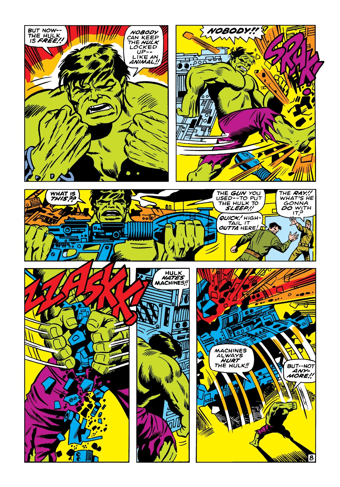 Read online Marvel Masterworks: The Incredible Hulk comic -  Issue # TPB 5 (Part 1) - 98