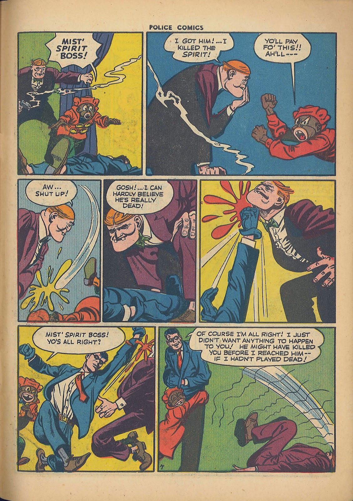 Police Comics issue 44 - Page 57