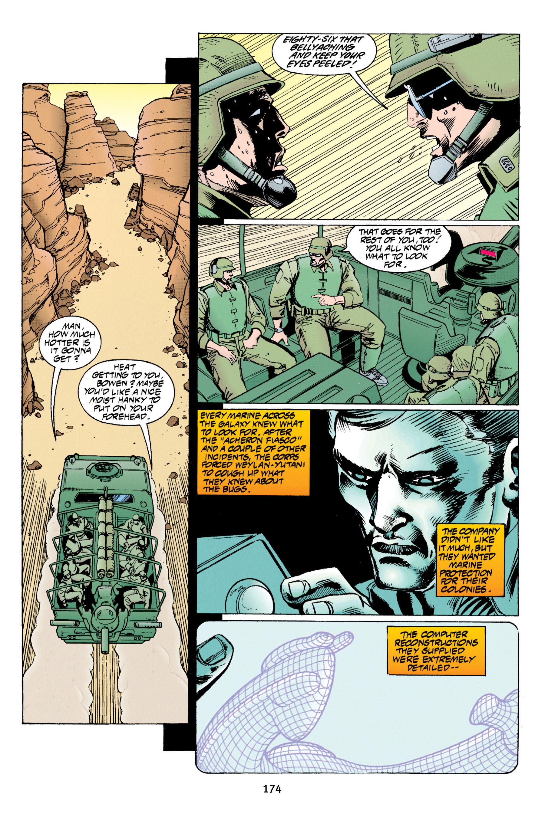 Read online Aliens vs. Predator Omnibus comic -  Issue # _TPB 1 Part 2 - 72