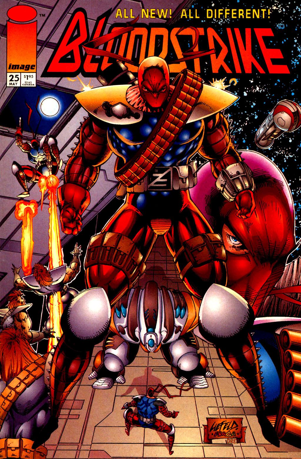 Bloodstrike (1993) 25 Page 1