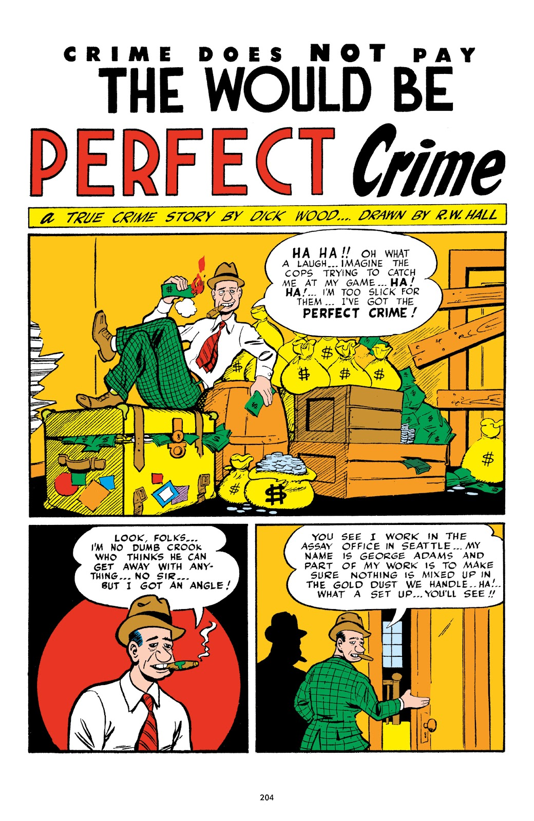 Read online Crime Does Not Pay Archives comic -  Issue # TPB 4 (Part 3) - 4