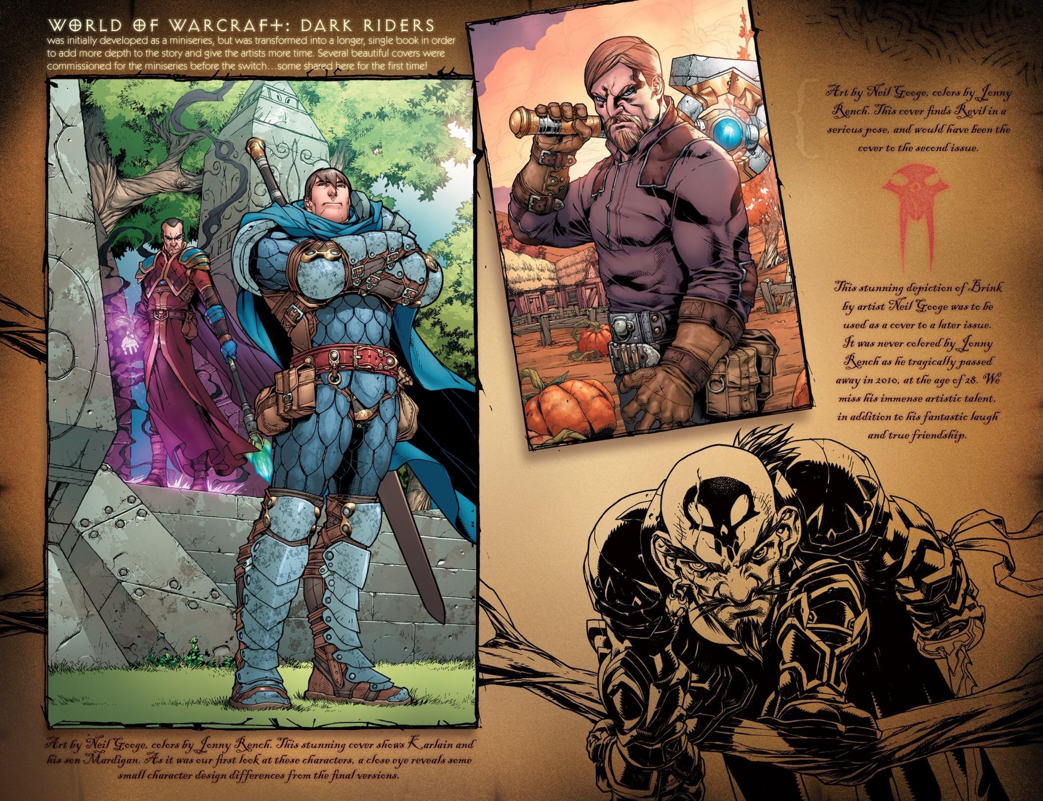 Read online World of Warcraft: Dark Riders comic -  Issue # Full - 141
