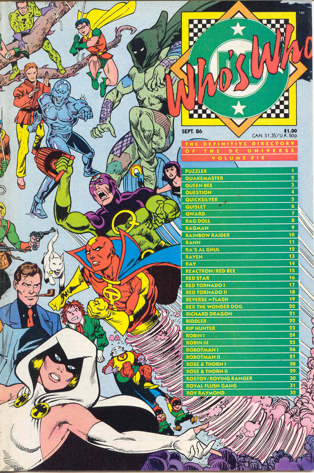 Whos Who: The Definitive Directory of the DC Universe 19 Page 1