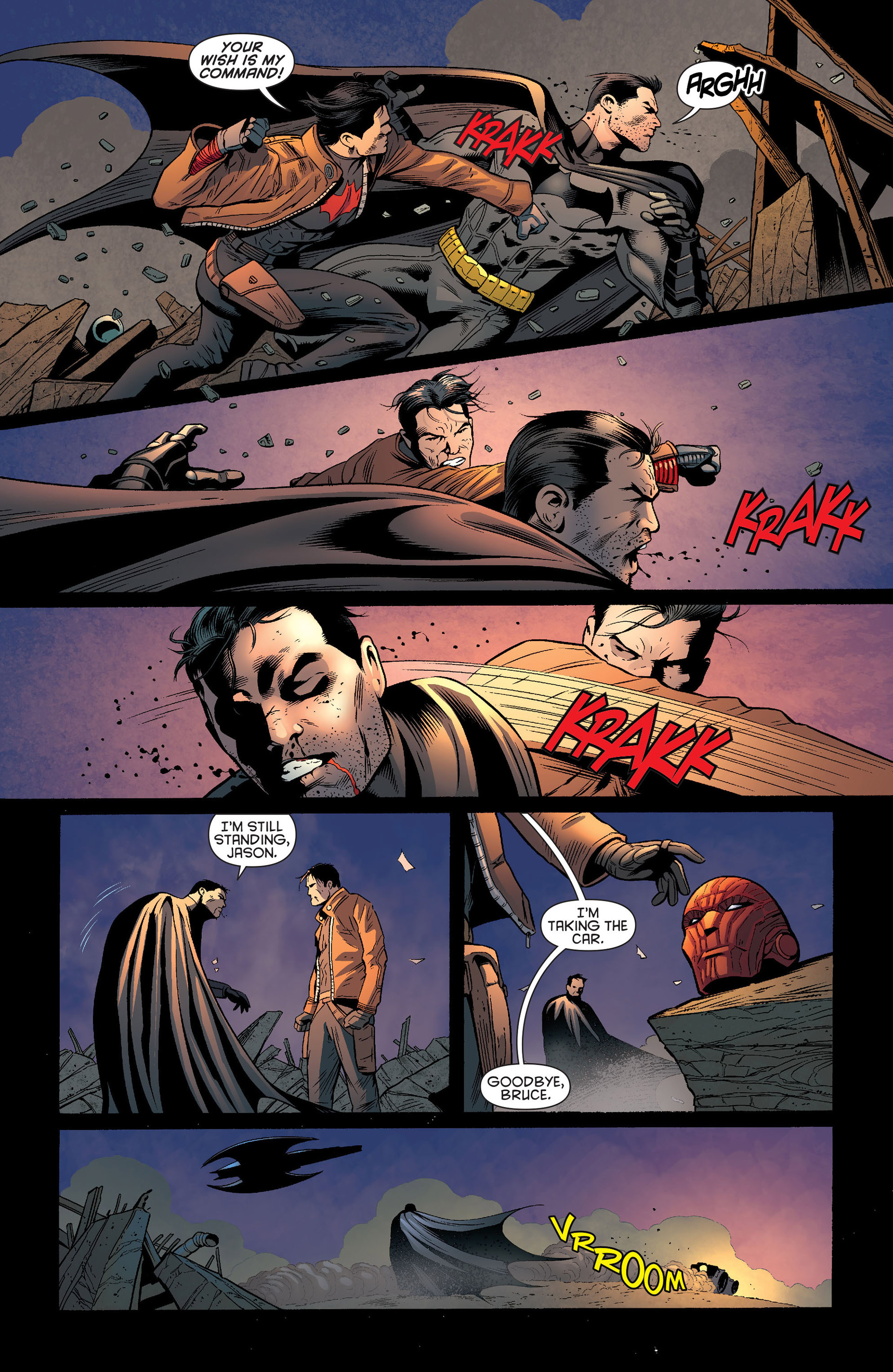 Read online Batman and Robin (2011) comic -  Issue #20 - 20