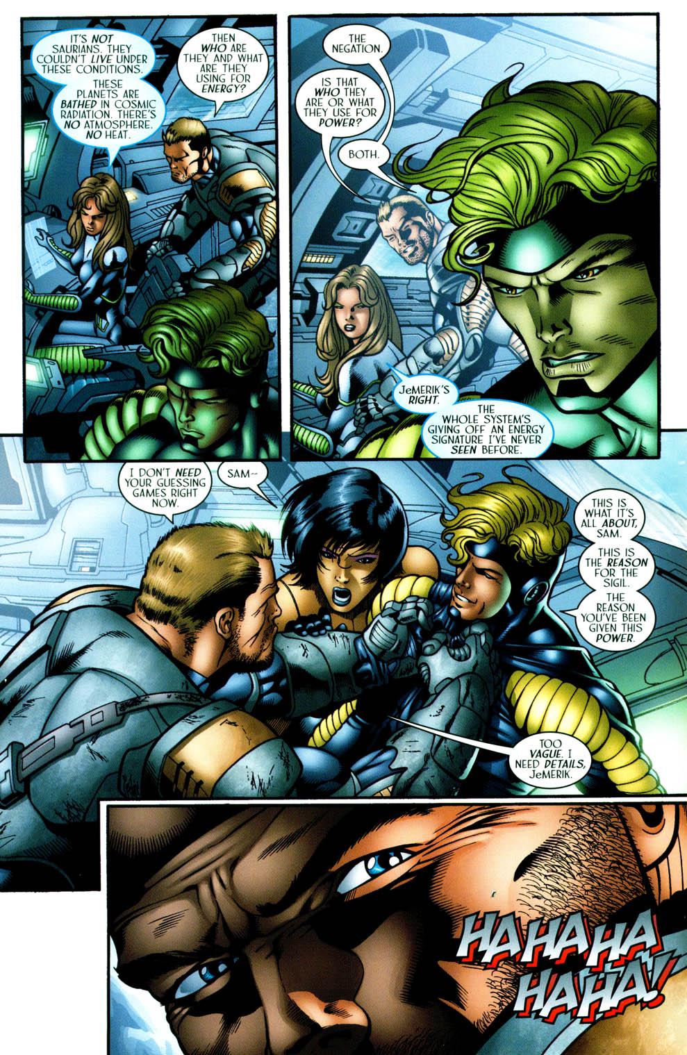 Read online Sigil (2000) comic -  Issue #36 - 18