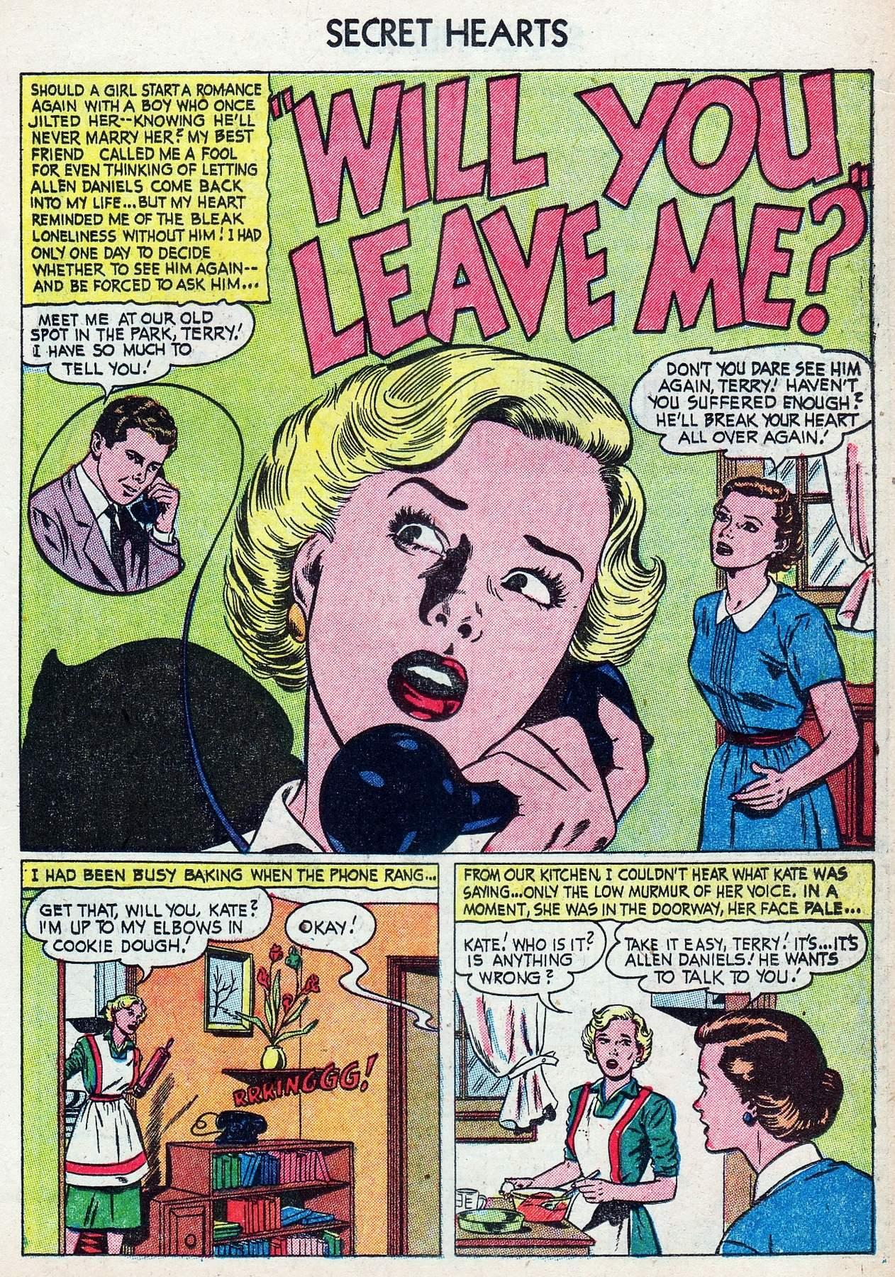 Read online Secret Hearts comic -  Issue #25 - 19